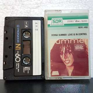 Cassette》Donna Summer: Love Is In Control