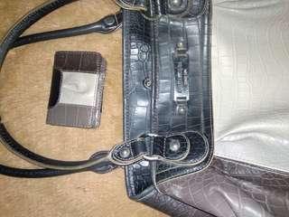 Original Nine West bag with mini wallet