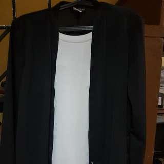 Corporate blazer with inner