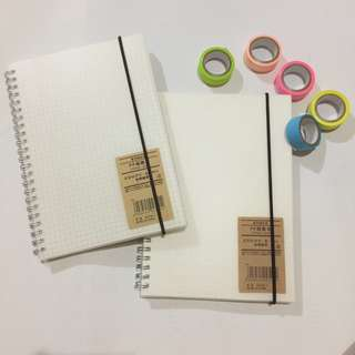 Muji Inspired Notebooks | A5 Dotted