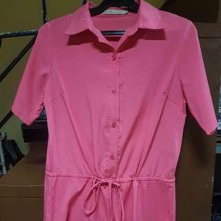 Romper pink
