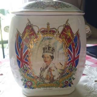 Ringtons tea caddy