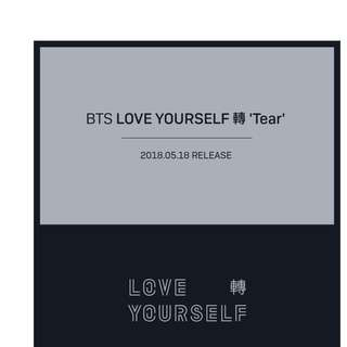 MSIAN GROUP ORDER   BTS - LOVE YOURSELF 'Tear'