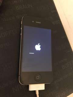 Preowned Iphone 4, 16GB, Black