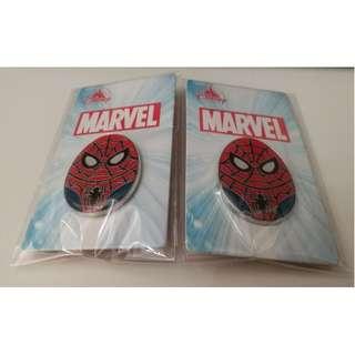 迪士尼花蛋徽章襟章 廸士尼 蜘蛛俠 Disney Pins Egg Pins Spider Man