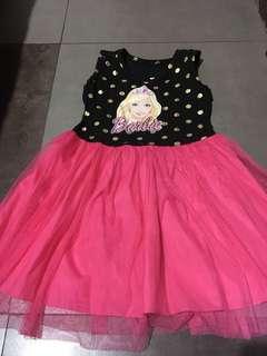 Barbie tutu dress like new