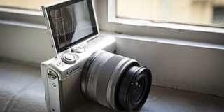 Canon Eos M100 + Tas Memory 16GB Bisa Cicilan
