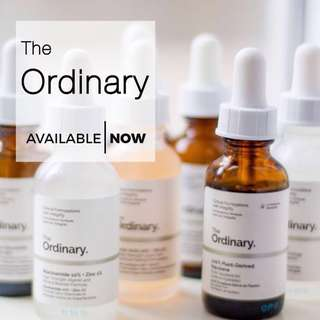 IN STOCK MASTERLIST - THE ORDINARY PRODUCTS