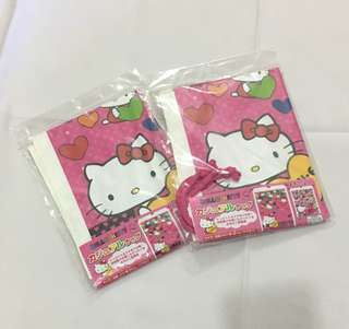 2x Hello Kitty Large Party you gift bag 禮物袋 (包郵)