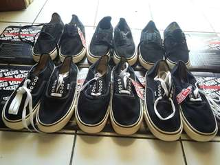 Obral Vans authentic bw & black dop (IFC)
