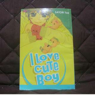[PRELOVED] Komik Remaja I Love Cute Boy