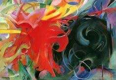 Franz Marc Webb Museum Artwork
