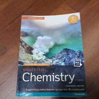 IB Higher Level HL Chemistry