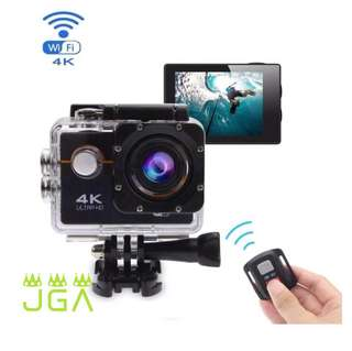4K  Waterproof action cam with wifi
