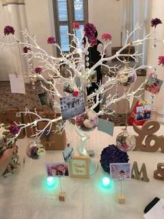 [Rental] Photo Tree ( with flowers )