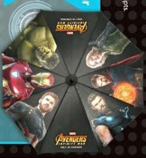 Avengers Infinity War Golf Umbrella