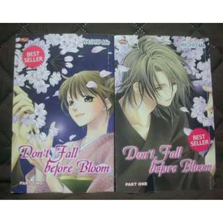 [PRELOVED] Komik Remaja Don't Fall Before Blossom series