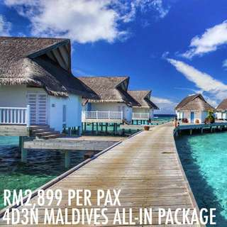 4D3N MALDIVES ALL-IN PACKAGE