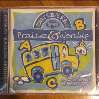 Praise & Worship - Sunday School Songs ( children CD )