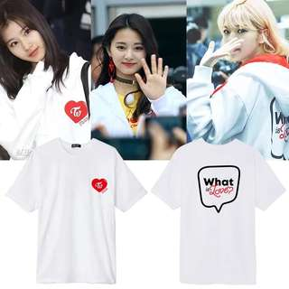 TWICE WHAT IS LOVE UNOFFICIAL T SHIRT