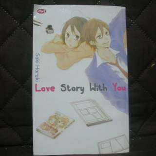 [PRELOVED] Komik Remaja Love Story With You
