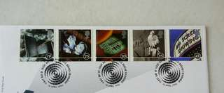 Great Britain UK England A Cinema Celebration Stamps & Special Postmark #1