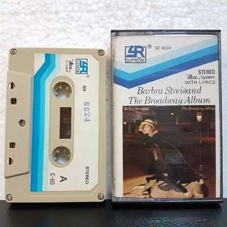Cassette》Barbara Streisand - The Broadway Album