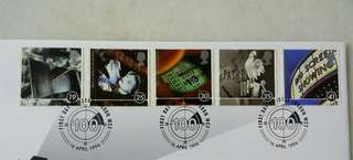 Great Britain UK England A Celebration Stamps & Special Postmark #2