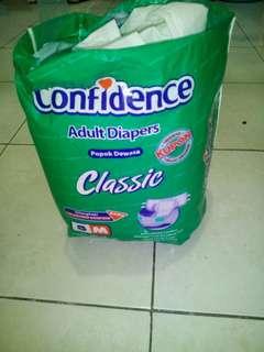diapers untuk dewaaa ukuran m