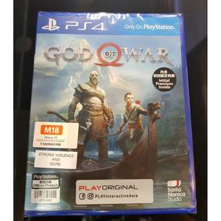 PS4 God of War(Looking for trade in)