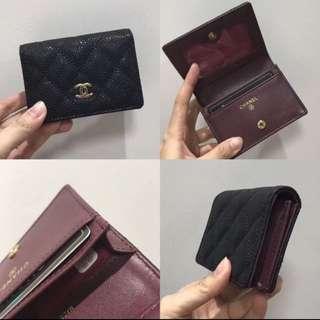 Chanel Caviar Card Case