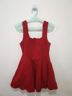 Dark Red Party dress