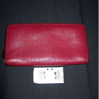 SALE! Coach Bifold Leather Wallet