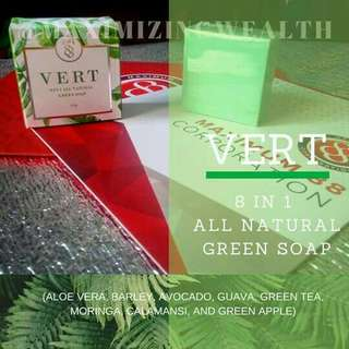 Vert 8 in 1 all natural soap