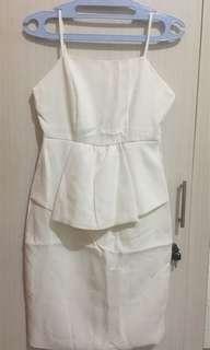 Dress White Aurora