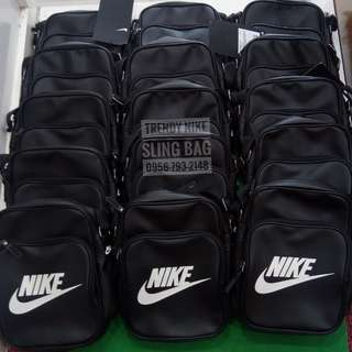 Nike Heritage Sling Bag Black