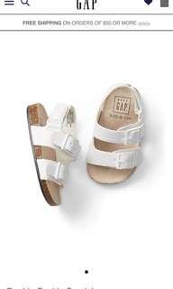 Baby gap buckle sandals