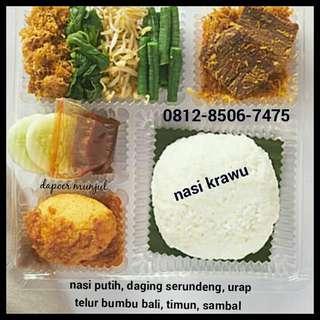 Aneka nasi box