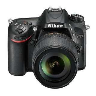 Nikon D7200 DSLR Camera 18-140mm Lens Kredit proses cepat