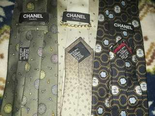 CHANEL NECKTIES