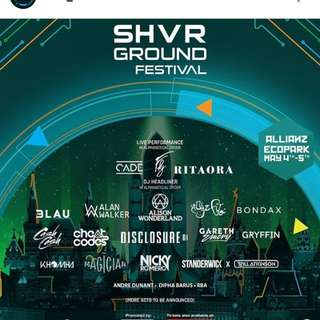 SHVR GROUND FESTIVAL (GA)
