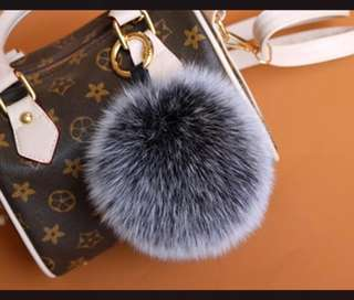 Furball Bag charm/ keychain