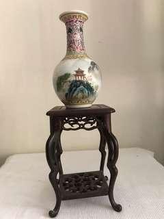 A Fine Porcelain Landscape  tianqiuping