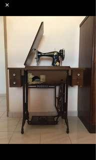 ($299)MODERN Antique Sewing Machine