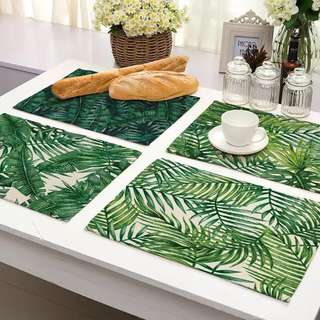 *READY STOCK* Tropical Print Placemat