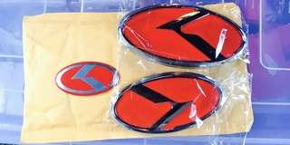 Kia Cerato Forte Logo / Emblems