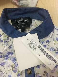 Kamiseta floral top
