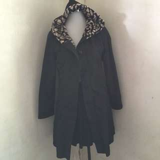 Wanko Fur Lining Trench Coat / Winter Coat