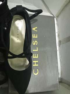 Chelsea Black Pump/Office shoes