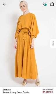 Zalora Yellow Dress